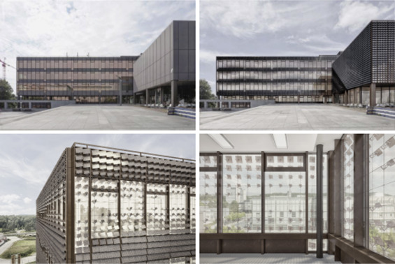 The Adaptive Solar Facade as a retrofit measure on the HIL building of ETH ...