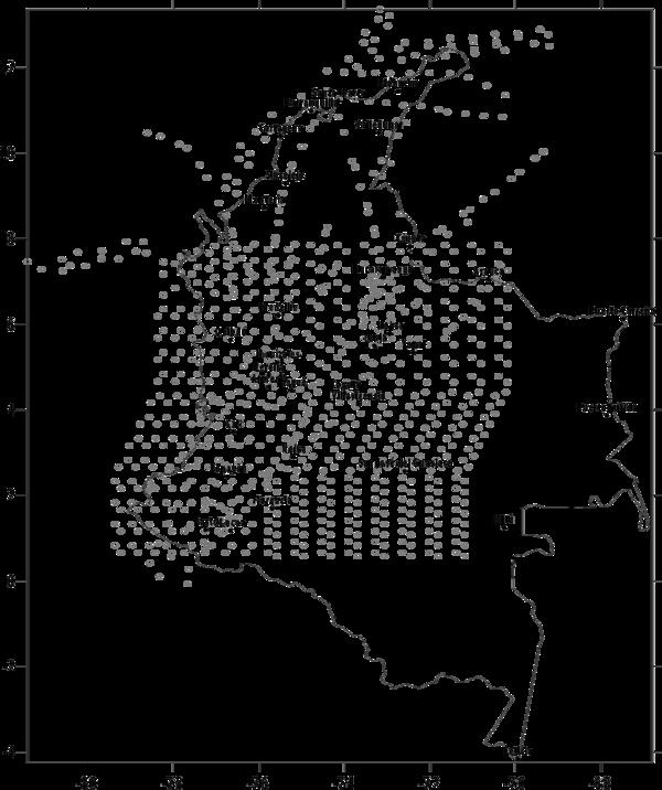 Calibracion De Funciones De Atenuacion Basadas En El Espectro De Fuente Radiado Y Su Aplicacion En Colombia Bernal Et Al 2015a Scipedia